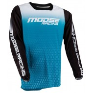 MOOSE M1 JERSEY 2021 AQUA / BLACK COLOUR