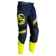 MOOSE QUALIFIER PANT 2021 NAVY / HI-VIZ COLOUR