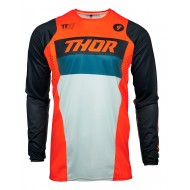 THOR PULSE RACER JERSEY 2021 ORANGE / MIDNIGHT COLOUR