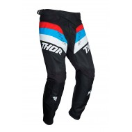 YOUTH THOR PULSE RACER PANT 2021 BLACK / RED / BLUE COLOUR