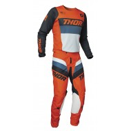 COMBO THOR PULSE RACER 2021 COLOR NARANJA / MEDIANOCHE