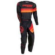 COMBO MOOSE SAHARA 2021 BLACK / ORANGE / RED COLOUR