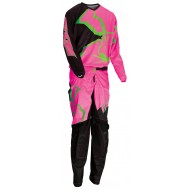 OFFER YOUTH COMBO MOOSE AGROID 2021 BLACK / PINK / GREEN COLOUR