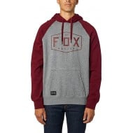 OUTLET SUDADERA FOX CREST COLOR GRAFITO JASPEADO