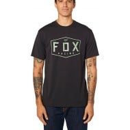 OUTLET CAMISETA TÉCNICA FOX CREST COLOR NEGRO / VERDE