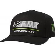 FOX PRO CIRCUIT FLEXFIT HAT BLACK COLOUR