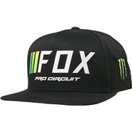 GORRA FOX PRO CIRCUIT COLOR NEGRO