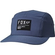 GORRA FOX NON STOP 5 PANEL COLOR ACERO AZUL
