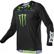 CAMISETA FOX 360 MONSTER 2021 COLOR NEGRO
