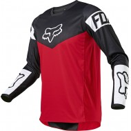 FOX 180 REVN JERSEY 2021 FLAME RED COLOUR