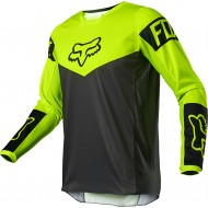 CAMISETA FOX 180 REVN 2021 COLOR AMARILLO FLUOR