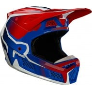 FOX V3 RS WIRED HELMET ECE 2021 FLAME RED COLOUR