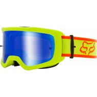 GAFAS FOX MAIN BARREN 2021 COLOR AMARILLO FLUOR - LENTE ESPEJO