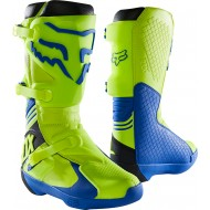 FOX COMP BOOT 2021 YELLOW / BLUE COLOUR