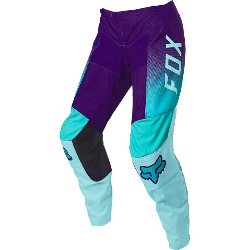 Pantalones Mujer Fox 180 Voke 2021 Color Agua 25856 246 Motocrosscenter Com