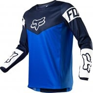 FOX YOUTH 180 REVN JERSEY 2021 BLUE COLOUR