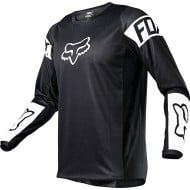 FOX YOUTH 180 REVN JERSEY 2021 BLACK / WHITE COLOUR