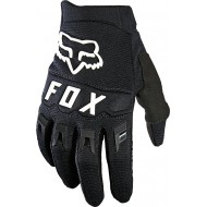 FOX YOUTH DIRTPAW GLOVE 2021 BLACK / WHITE COLOUR