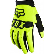 FOX YOUTH DIRTPAW GLOVE 2021 FLUO YELLOW COLOUR