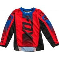 FOX YOUTH (4-5 YEARS) 180 OKTIV JERSEY 2021 FLUO RED COLOUR