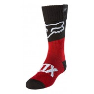 FOX YOUTH SOCK REVN 2021 FLAME RED COLOUR