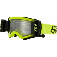 GAFAS FOX AIRSPACE STRAY CON ROLL-OFF 2021 COLOR AMARILLO FLUOR
