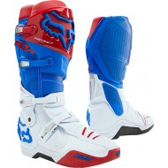 FOX INSTINCT BOOT 2021 BLUE / RED COLOUR