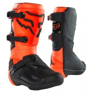 FOX YOUTH COMP BOOT BUCKLE 2021 FLUO ORANGE COLOUR