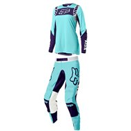 OUTLET COMBO MUJER FOX FLEXAIR MACH ONE 2021 COLOR AGUA