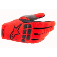 ALPINESTARS RACEFEND GLOVES 2021 BRIGHT RED / BLACK COLOUR