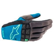 ALPINESTARS RACEFEND GLOVES 2021 OCEAN BLUE / MINT COLOUR