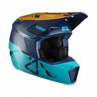 OFFER LEATT MOTO 3.5 V21.4 HELMET 2021 BLUE COLOUR