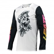 CAMISETA LEATT MOTO 4.5 LITE 2021 SKULL COLOR BLANCO