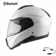 CASCO MODULAR HEBO TOURER BLUETOOTH 2021 COLOR BLANCO
