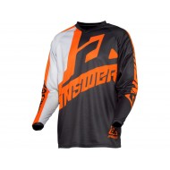 ANSWER SYNCRON VOYD JERSEY 2021 CHARCOAL/GRAY/ORANGE COLOUR