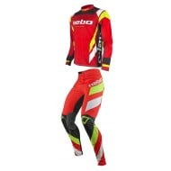COMBO HEBO TRIAL RACE PRO IV 2021 RED COLOUR