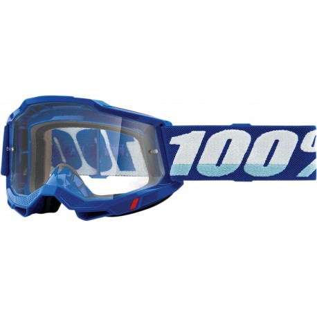 GAFAS 100% ACCURI 2 2021 COLOR AZUL - LENTE TRANSPARENTE