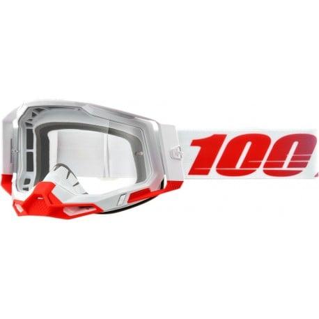 GAFAS 100% RACECRAFT 2 STKITH 2021 - LENTE TRANSPARENTE