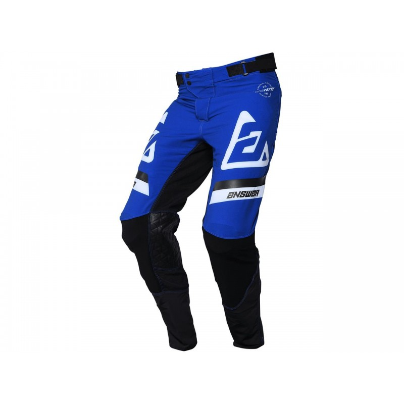 PANTALÓN ANSWER TRINITY VOYD 2021 COLOR AZUL RÉFLEX/NEGRO/BLANCO