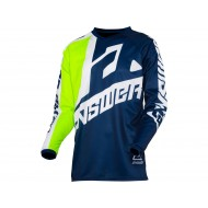 ANSWER SYNCRON VOYD YOUTH JERSEY 2021 COLOUR MIDNIGHT/HYPER ACID/WHITE