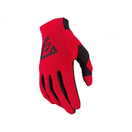 GUANTES ANSWER AR2 BOLD 2021 COLOR ROJO/NEGRO