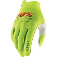 100% GLOVES ITRACK 2021 COLOUR YELLOW FLUO