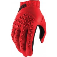 100% GLOVES YOUTH AIRMATIC 2021 CPLOUR RED/BLACK