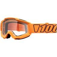 OFFER 100% ACCURI LUMINARI MOTOCROSS GOOGLE - CLEAR LENS