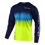 TROY LEE GP AIR STAIND JERSEY 2021 NAVY / YELLOW COLOUR