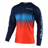 TROY LEE GP AIR STAIND JERSEY 2021 NAVY / ORANGE COLOUR