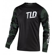 TROY LEE GP JERSEY 2021 CAMO GREEN / BLACK COLOUR