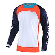 TROY LEE SE PRO BOLDOR JERSEY 2021 ORANGE / NAVY COLOUR
