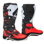 BOOTS FORMA PILOT BLACK / RED / WHITE COLOUR