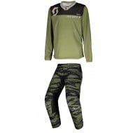 COMBO INFANTIL SCOTT 350 DIRT COLOR VERDE MILITAR
